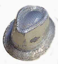Trilby (Silver Sequin)